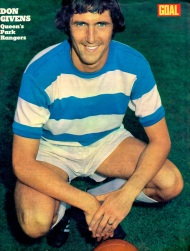 Don Givens, QPR 1972