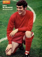Eric McMordie, Middlesbrough 1970