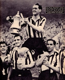 FA Cup Winners, Newcastle Utd 1951