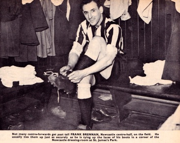 Frank Brennan, Newcastle Utd 1951-2