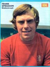 Frank Spraggon, Middlesbrough 1973