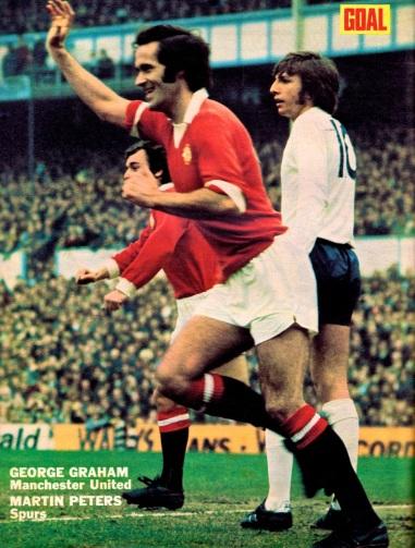 George Graham, Man United 1973
