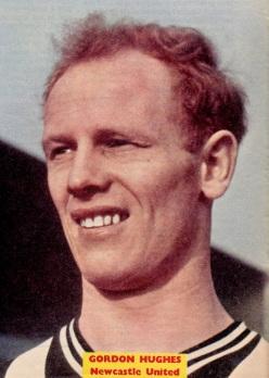 Gordon Hughes, Newcastle Utd 1962