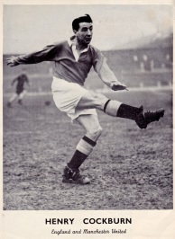 Henry Cockburn, Man United 1951