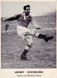 Henry Cockburn, Man United 1951