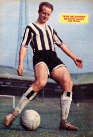 Ivor Allchurch, Newcastle Utd 1961