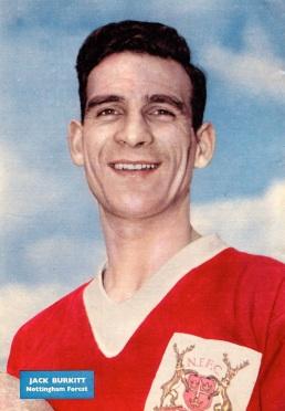 Jack Burkitt, Nottingham Forest 1959