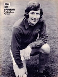 Jim Barron, Nottingham Forest 1973