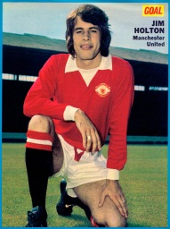 Jim Holton, Man United 1973