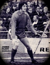 Jim Platt, Middlesbrough 1972