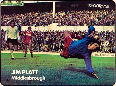 Jim Platt, Middlesbrough 1975
