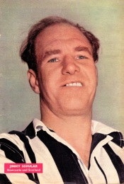 Jimmy Scoular, Newcastle Utd 1958