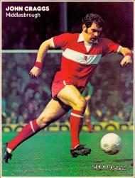 John Craggs, Middlesbrough 1974-2