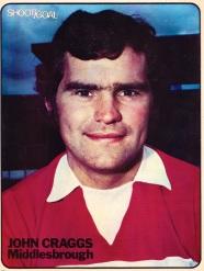 John Craggs, Middlesbrough 1974