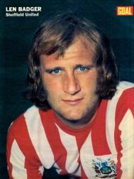 Len Badger, Sheffield United 1972