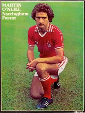 Martin O'Neill, Nottingham Forest 1977