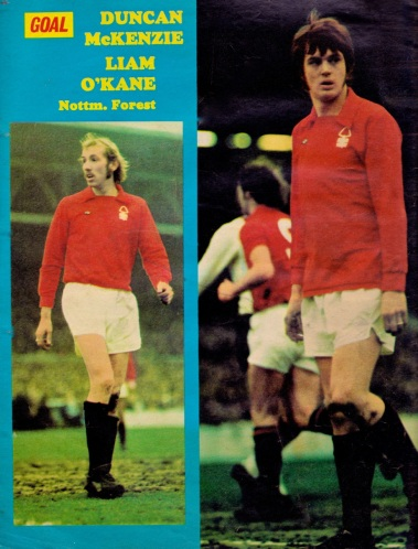 McKenzie and O'Kane, Nottingham Forest 1974