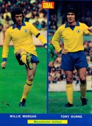 Morgan & Dunne, Man United 1972
