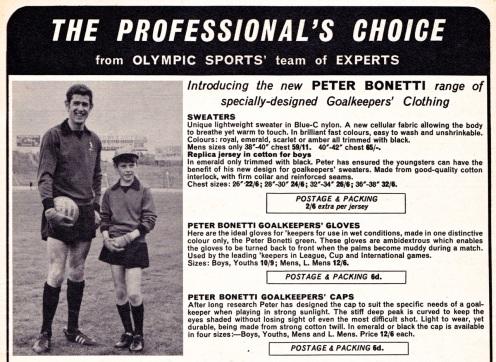 Peter Bonetti 1968