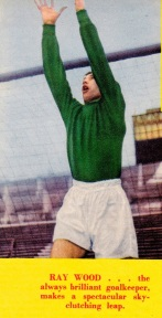Ray Wood, Man United 1958