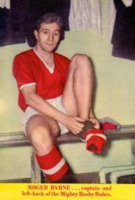 Roger Byrne, Man United 1958