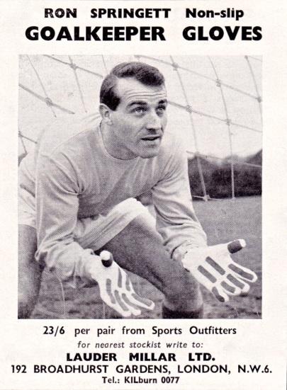 Ron Springett 1958