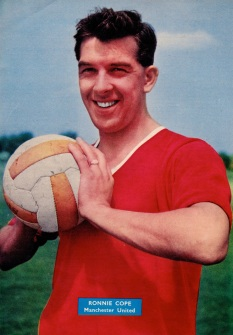 Ronnie Cope, Man United 1958