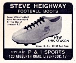 Steve Heighway Stylo 1971
