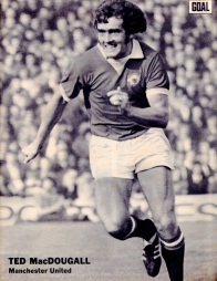 Ted McDougall, Man United 1972