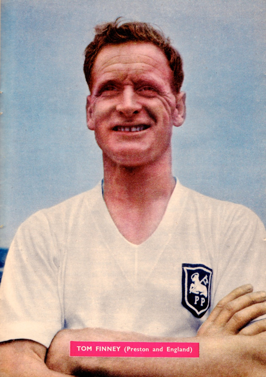 Tom Finney, Preston NE 1958