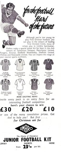 Umbro 1960-3