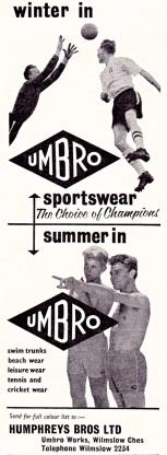 Umbro 1960