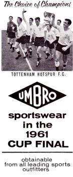 Umbro 1961-2
