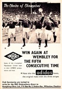 Umbro 1963-4