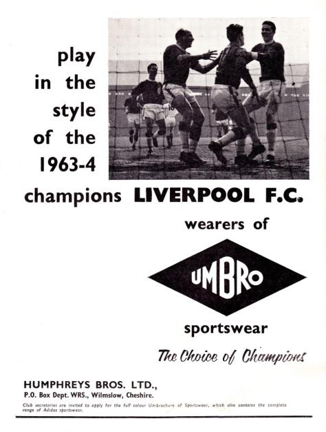 Umbro 1964