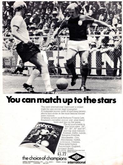 Umbro 1971-4