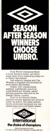 Umbro 1973-6
