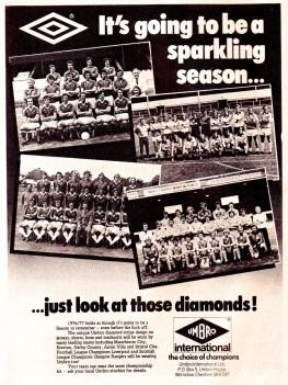Umbro 1976-7