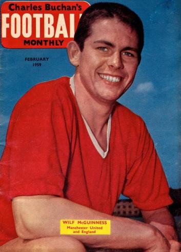 Wilf McGuinness, Man United 1959