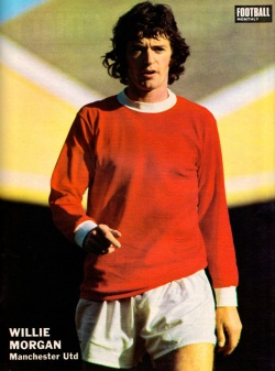 Willie Morgan, Man United 1971-2