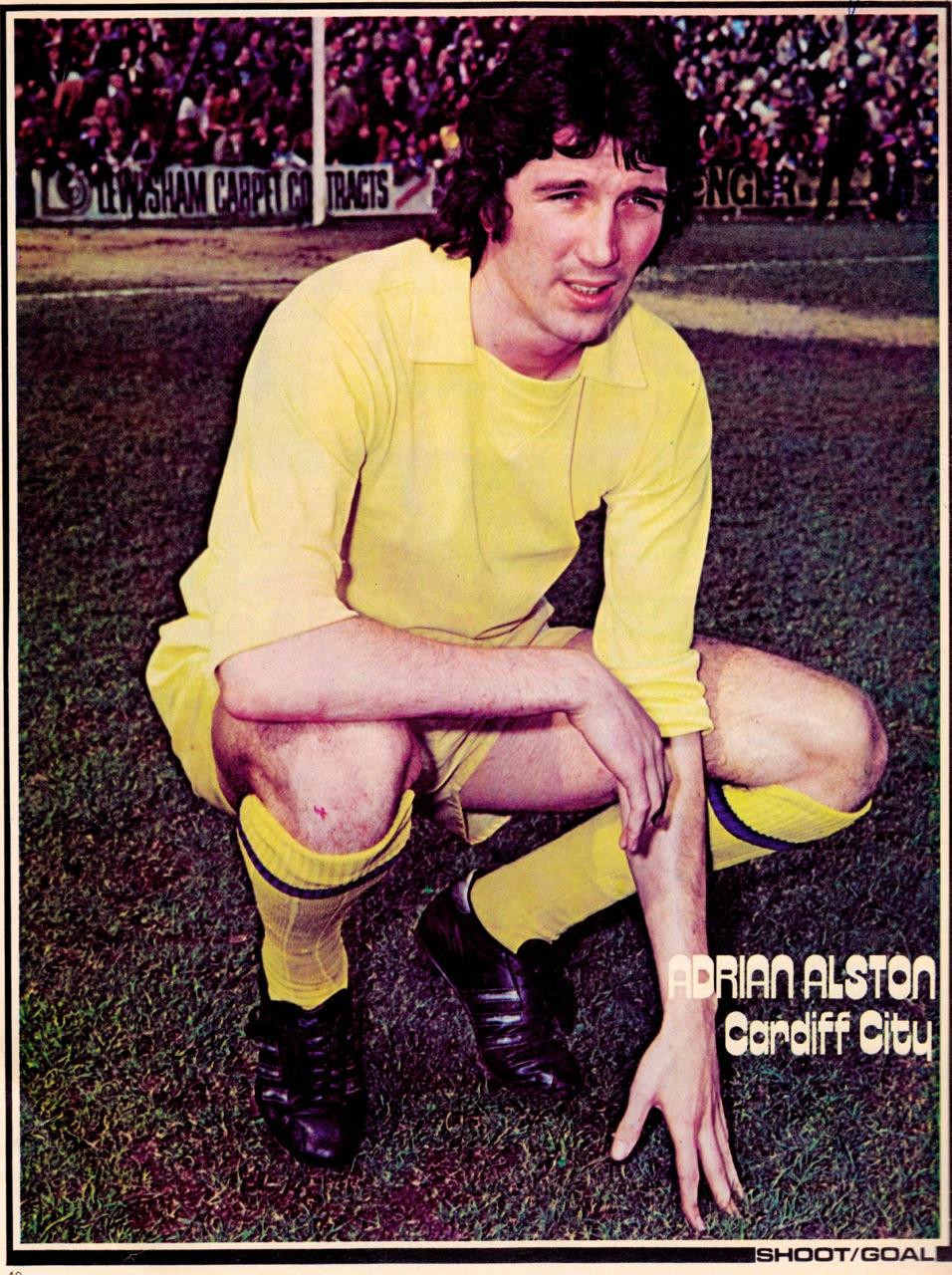 Adrian Alston, Cardiff City 1976