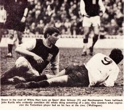 Alan Gilzean, Tottenham 1966