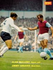 Alan Mullery, Tottenham 1970