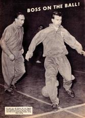 Alf Ramsey and Bryan Douglas, England 1963