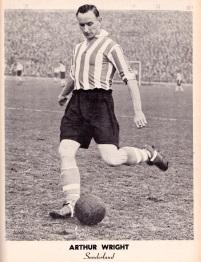Arthur Wright, Sunderland 1951