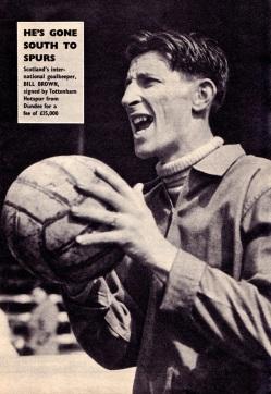 Bill Brown, Tottenham 1959