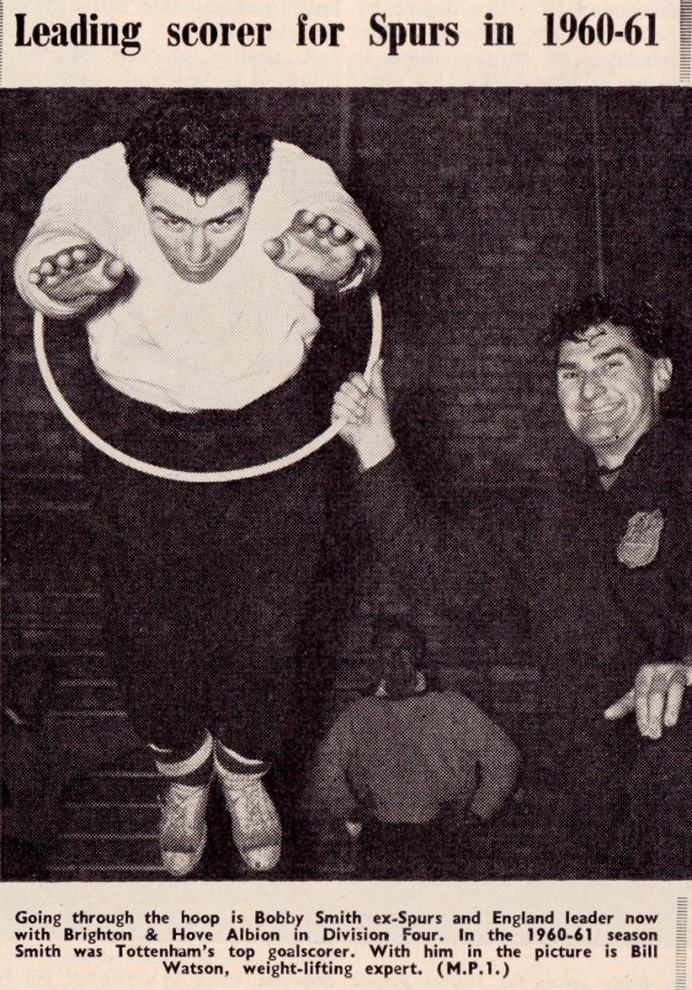 Bobby Smith, Tottenham 1961
