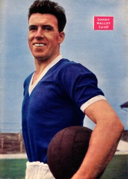 Danny Malloy, Cardiff City 1958