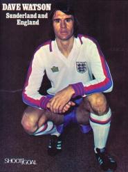 Dave Watson, England 1975