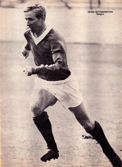 Denis Setterington, Rangers 1966